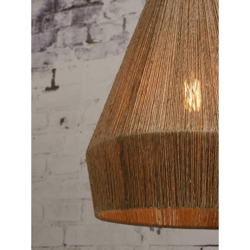 Lampe à suspension en jute IGUAZU XL (Ø 50 cm) (naturel) - image 45185
