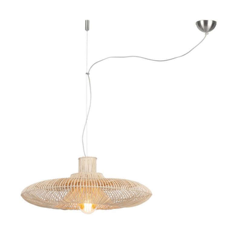 Lampe à suspension en rotin KALAHARI XL (naturel) - image 45204