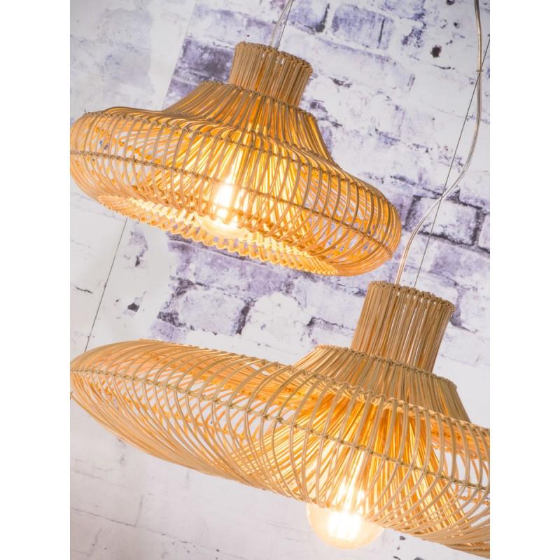 Lampe à suspension en rotin KALAHARI XL (naturel) - image 45205