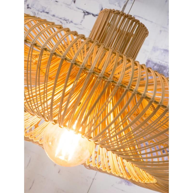 Lampe à suspension en rotin KALAHARI XL (naturel) - image 45207