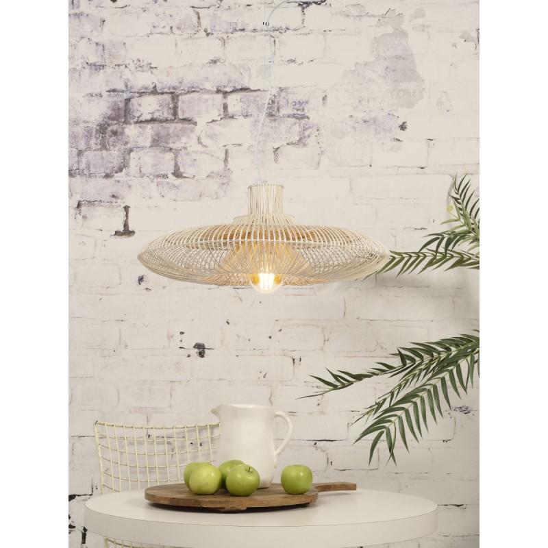 Lampe à suspension en rotin KALAHARI XL (naturel) - image 45212