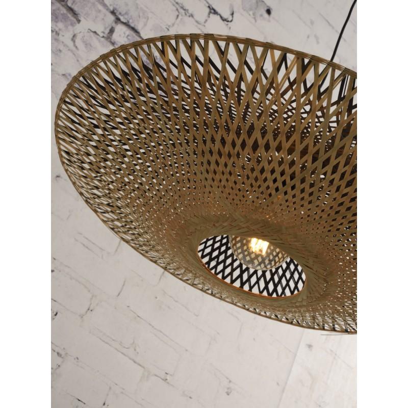 Lampada sospensione bambù KALIMANTAN XL (naturale, nera) - image 45236