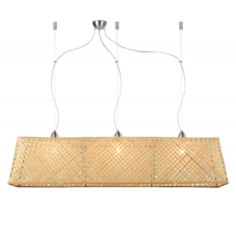 Lampe à suspension en bambou KOMODO (naturel) - image 45314