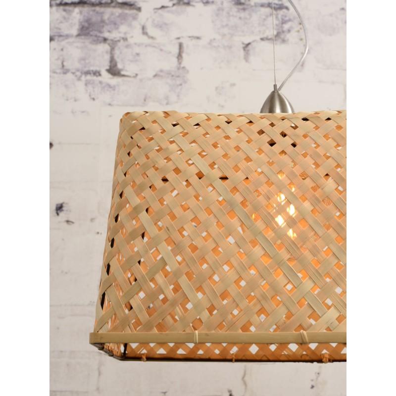 KOMODO bamboo suspension lamp (natural) - image 45317