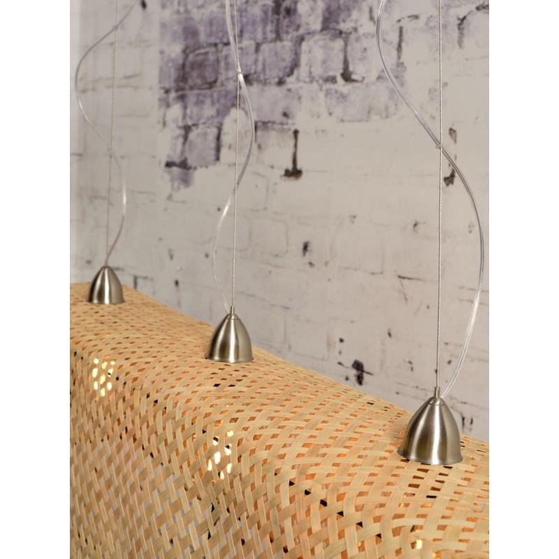 Lampe à suspension en bambou KOMODO (naturel) - image 45319