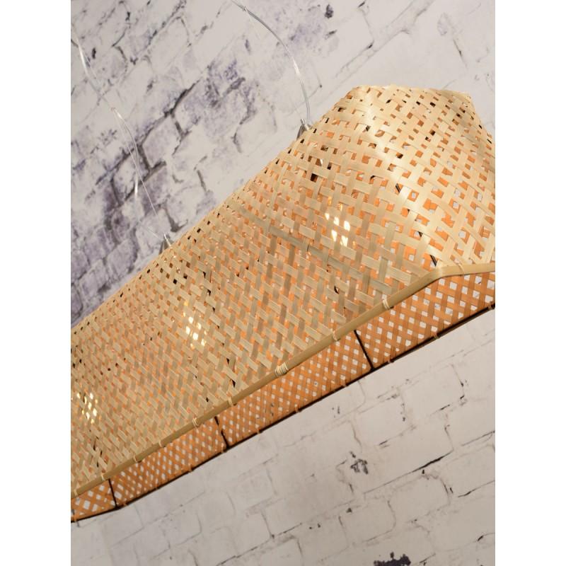 Lampe à suspension en bambou KOMODO (naturel) - image 45320