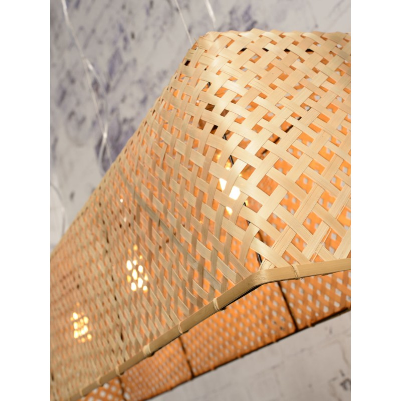Lampe à suspension en bambou KOMODO (naturel) - image 45321