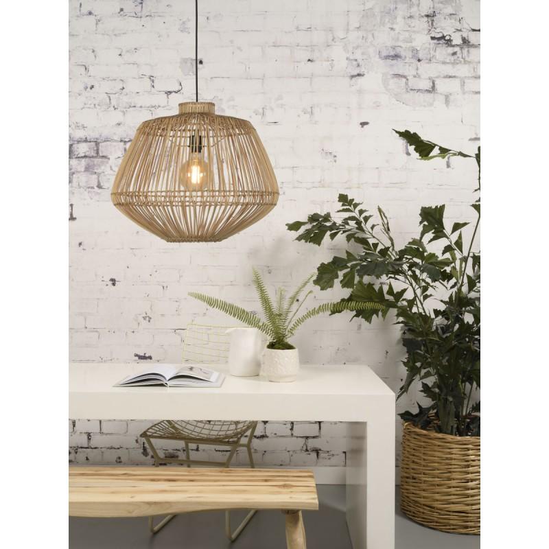 Lámpara de suspensión de ratán MADAGASCAR (natural) - image 45342