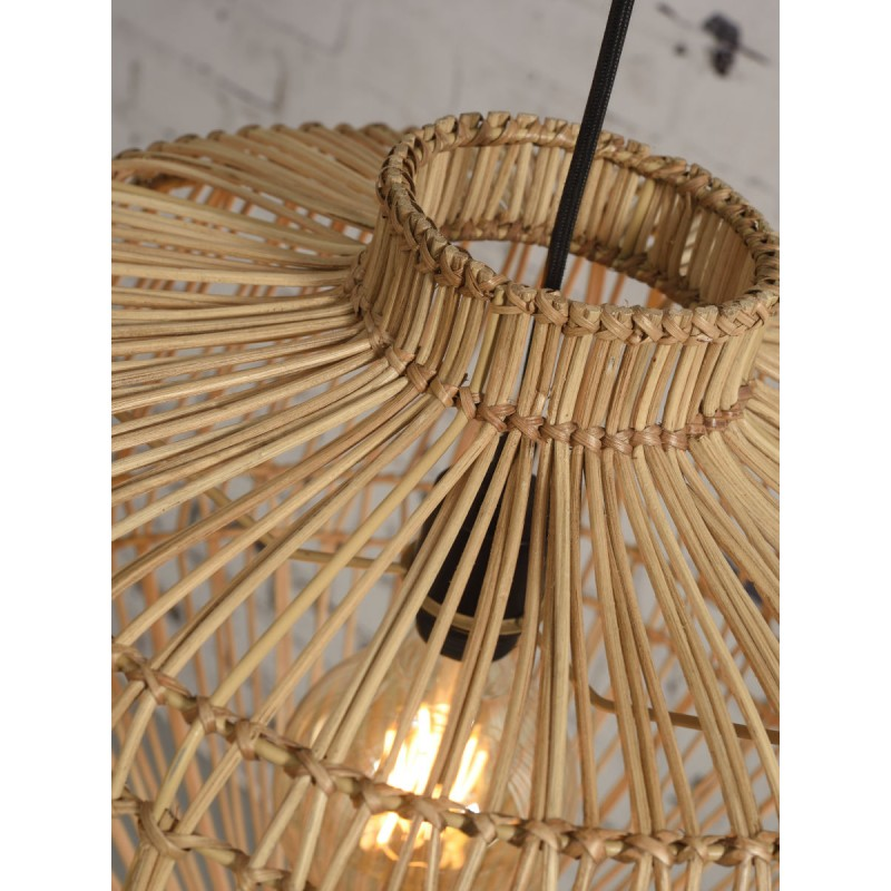 MADAGASCAR rattan suspension lamp (natural) - image 45345