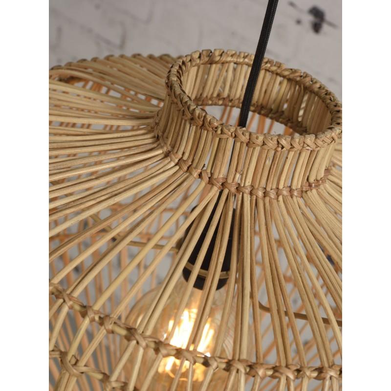 Lampe à suspension en rotin MADAGASCAR (naturel) - image 45345