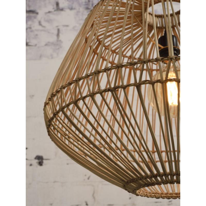 Lámpara de suspensión de ratán MADAGASCAR (natural) - image 45348