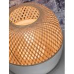 Lampe de table en bambou MEKONG XL (blanc, naturel)
