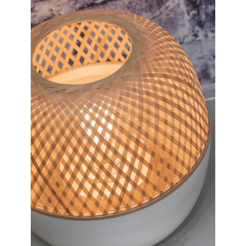 Lampe de table en bambou MEKONG XL (blanc, naturel) - image 45404