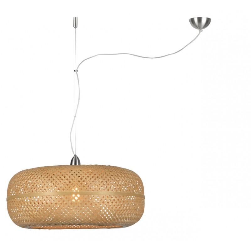PALAWAN bamboo suspension lamp (natural) - image 45417