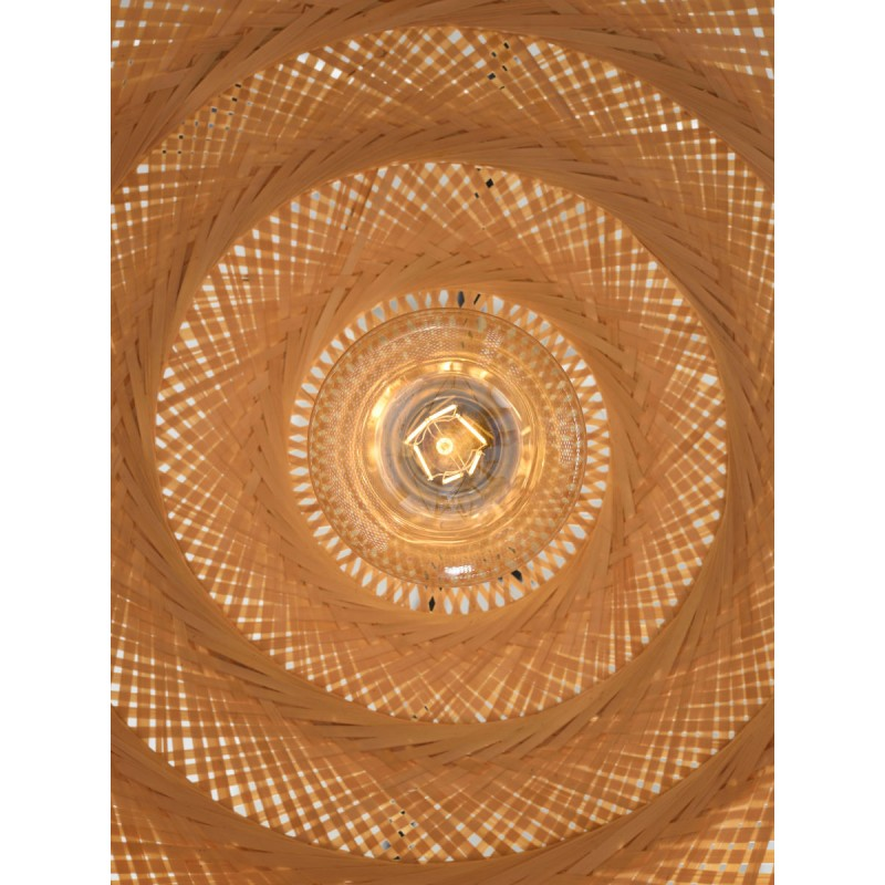 PalaWAN lámpara de suspensión de bambú 2 pantallas (natural) - image 45454