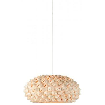 Lampe à suspension en bambou SAGANO SMALL (naturel)