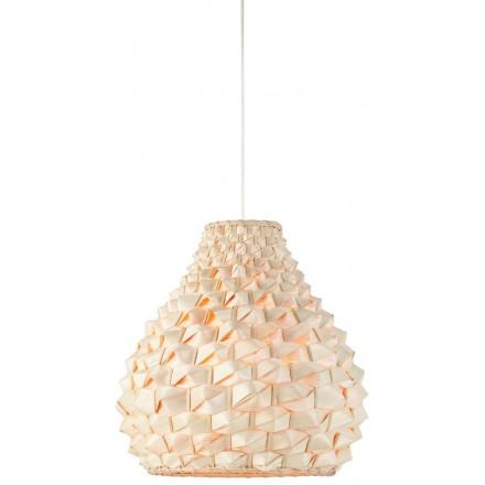 SAGANO MEDIUM bamboo suspension lamp (natural)