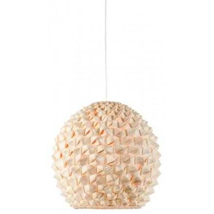 Lampe à suspension en bambou SAGANO XL (naturel)