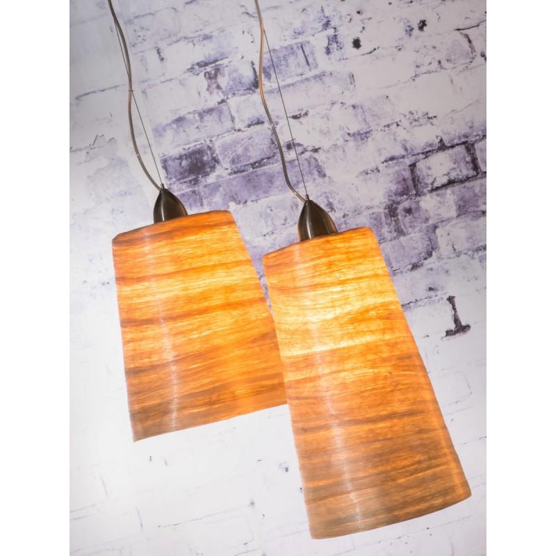 Lampe à suspension en abaca SAHARA XL (naturel) - image 45509