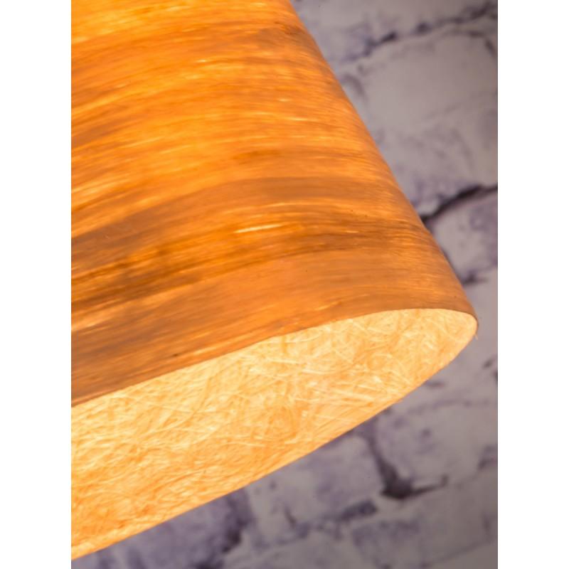 Lampe à suspension en abaca SAHARA XL (naturel) - image 45510