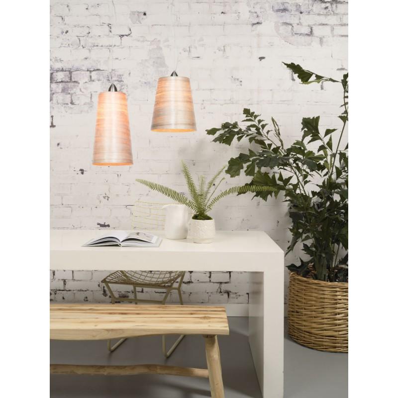 Lampe à suspension en abaca SAHARA XL (naturel) - image 45519
