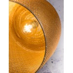 Bamboo sospensione lampada SERENGETI 2 paralumi (naturale)