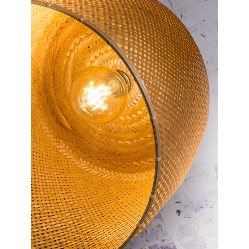 Lámpara de suspensión de bambú SERENGETI 2 pantallas (natural) - image 45569
