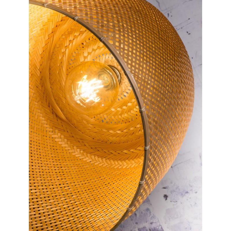 Bambus Hängeleuchte SERENGETI 2 Lampenschirme (natürlich) - image 45569