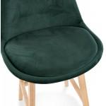 Pad a barre a media altezza Design scandinavo in piedi di colore naturale CAMY MINI (verde)