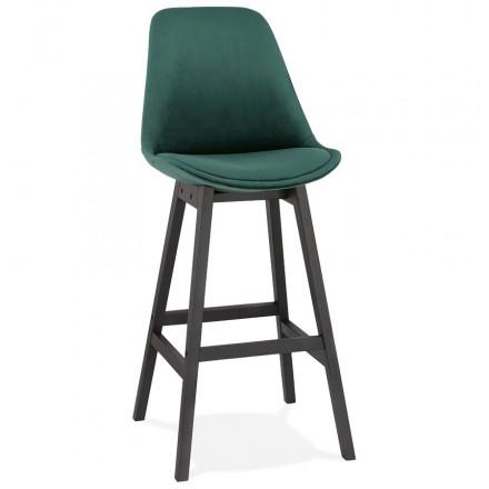 CAMY nero piede velluto design bar set (verde)