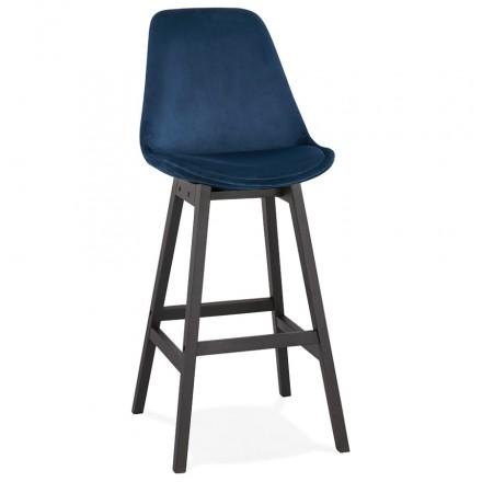 CAMY nero piede velluto design bar set (blu)