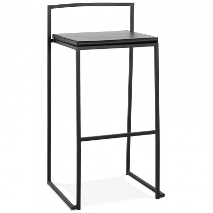 DORDOE stackable industrial bar bar set (black)