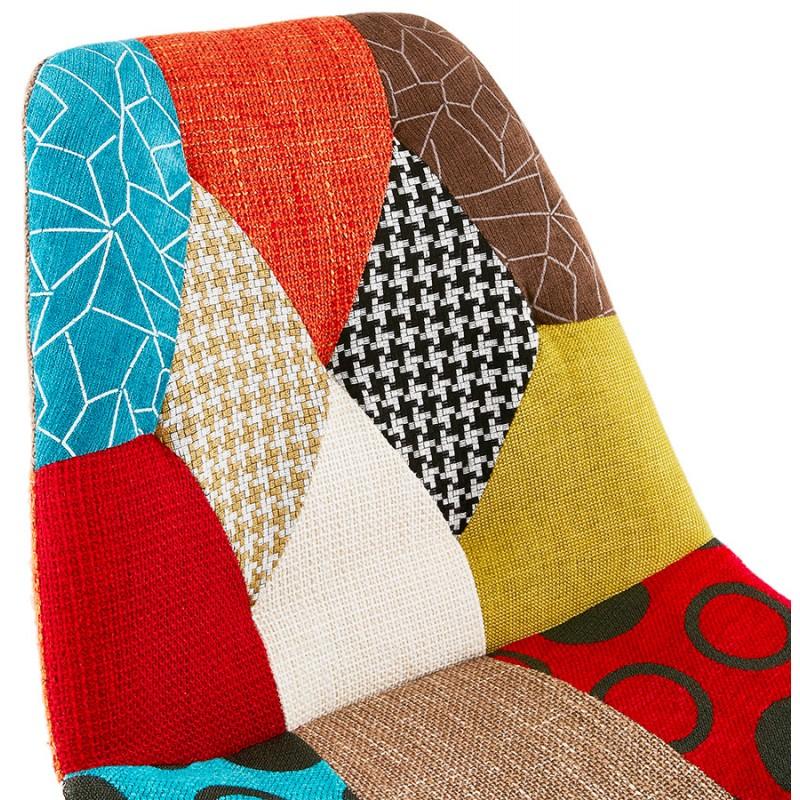 Barra de barra de parche bohemio de altura media en tejido MAGIC MINI (multicolor) - image 46640