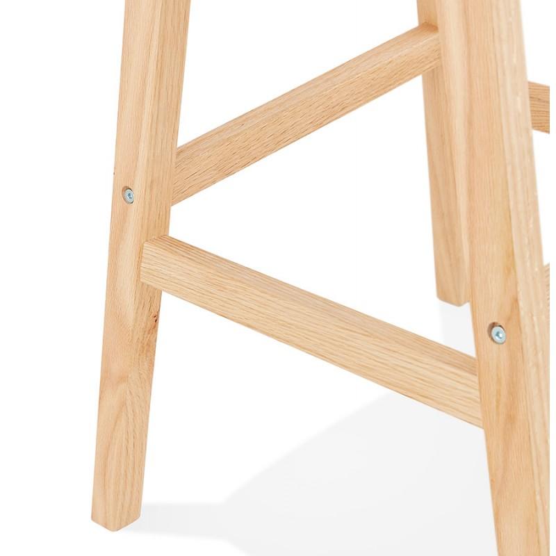 Tabouret de bar chaise de bar bohème patchwork en tissu MAGIC (multicolore) - image 46657