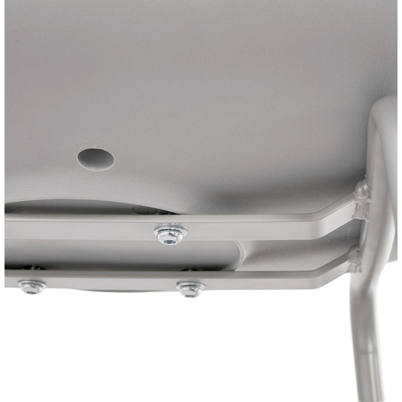 Bar pad a media altezza vintage piedi grigio chiaro OCEANE MINI (grigio chiaro) - image 46669