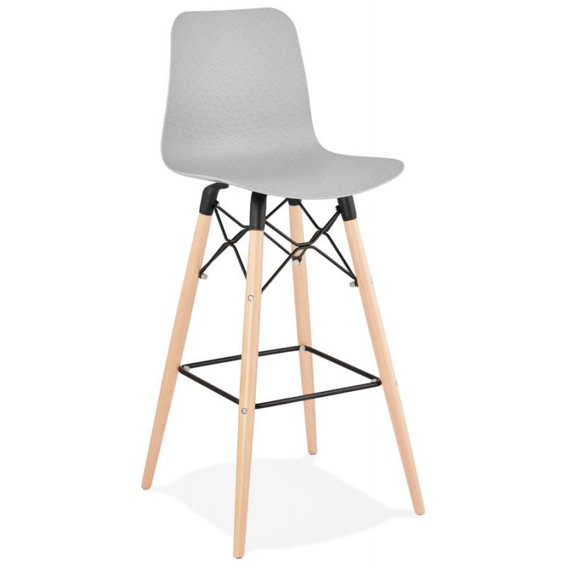FAIRY skandinavischen Design Barhocker (hellgrau) - image 46689