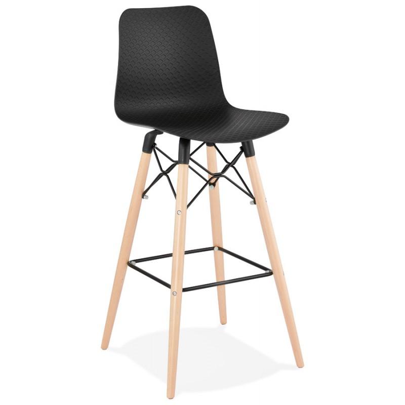 FAIRY skandinavischen Design Barhocker (schwarz) - image 46704
