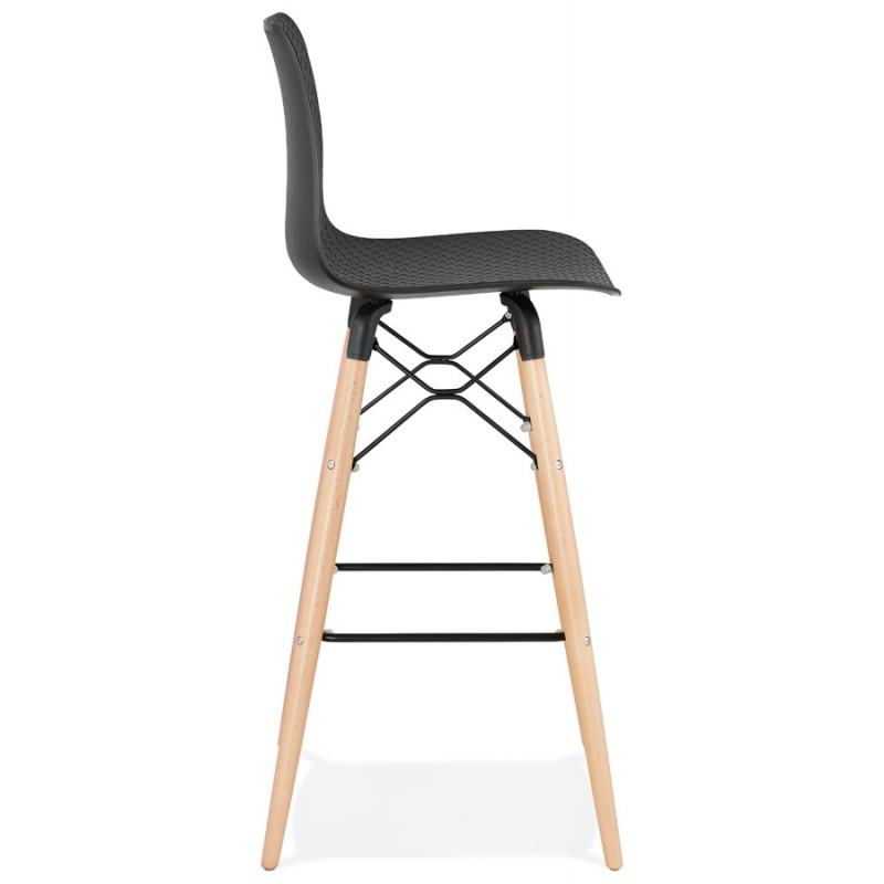 FAIRY skandinavischen Design Barhocker (schwarz) - image 46706