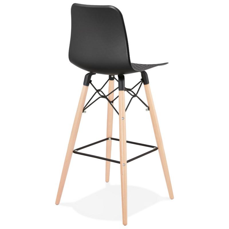 FAIRY skandinavischen Design Barhocker (schwarz) - image 46707