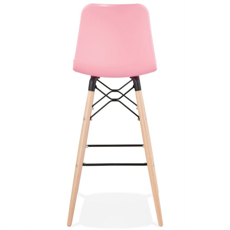 FAIRY Scandinavian design bar stool (pink) - image 46753