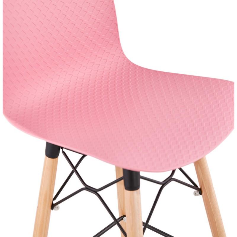 Sgabello barra di design scandinavo FAIRY (rosa) - image 46755