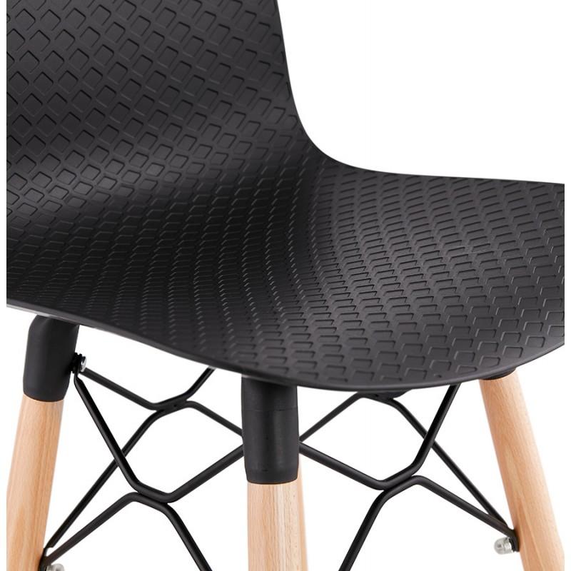 Scandinavian mid-height bar set FAIRY MINI (black) - image 46786