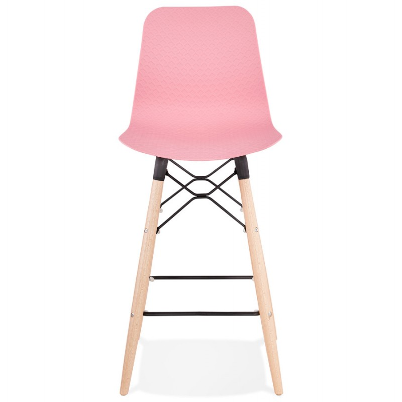Scandinavian mid-height bar set FAIRY MINI (pink) - image 46825