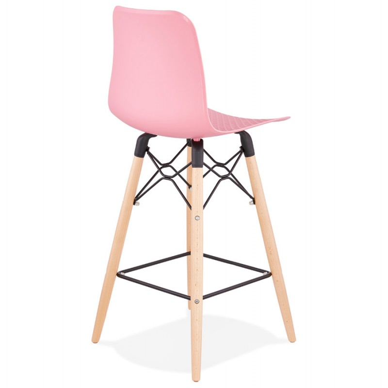 Scandinavian mid-height bar set FAIRY MINI (pink) - image 46827