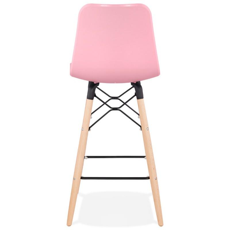 Scandinavian mid-height bar set FAIRY MINI (pink) - image 46828