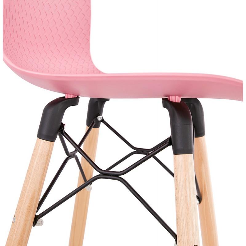 Scandinavian mid-height bar set FAIRY MINI (pink) - image 46832