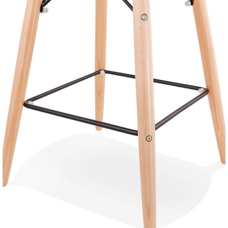 Taburete de barra de diseño escandinavo PACO (negro) - image 46939