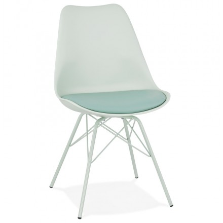SANDRO industrial style design chair (light green)