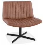 PALOMA sedia gireggiata vintage (marrone)