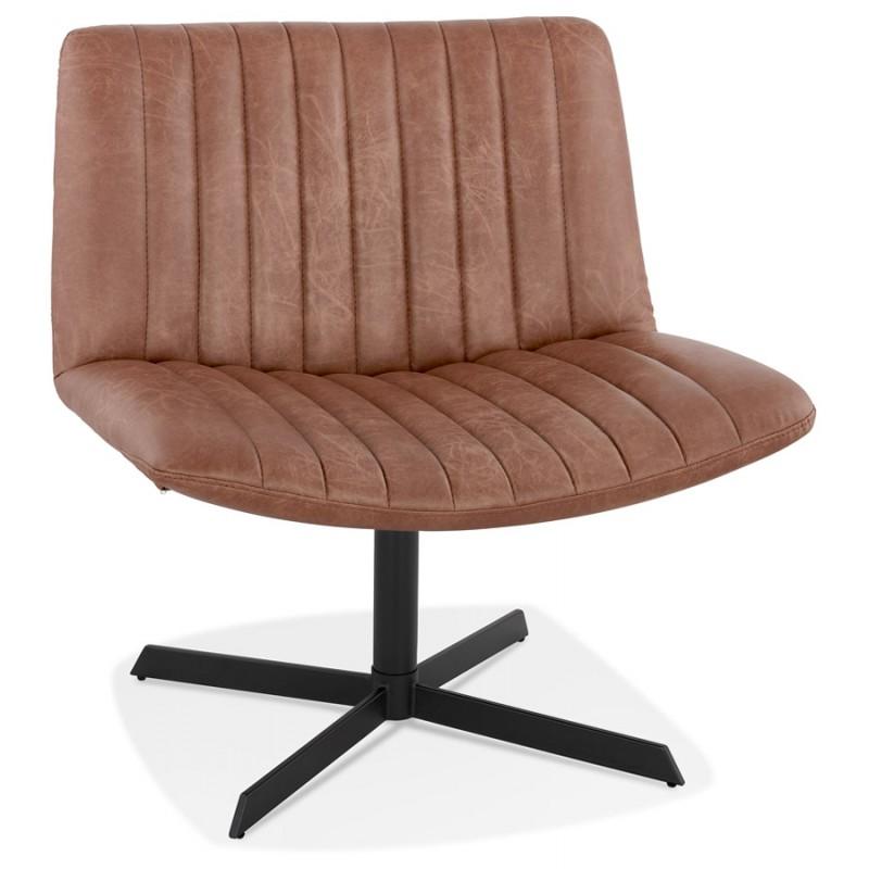 PALOMA swivel vintage chair (brown) - image 47277